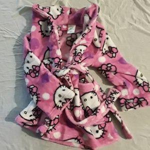 Hello Kitty toddler bathrobe